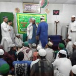 Naat council celebrating 100th mehfil.